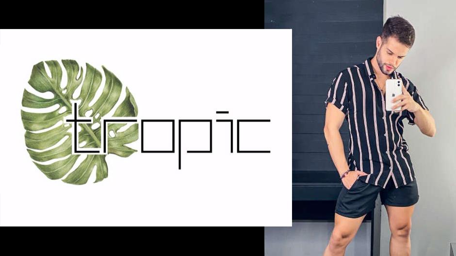 tropic moda masculina atacado