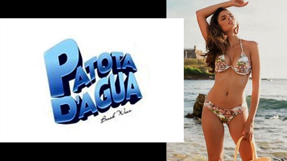 patota d' água moda praia feminina atacado