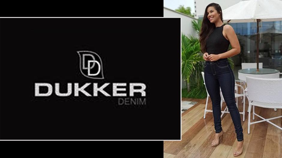 Dukker denim jeans moda feminina atacado