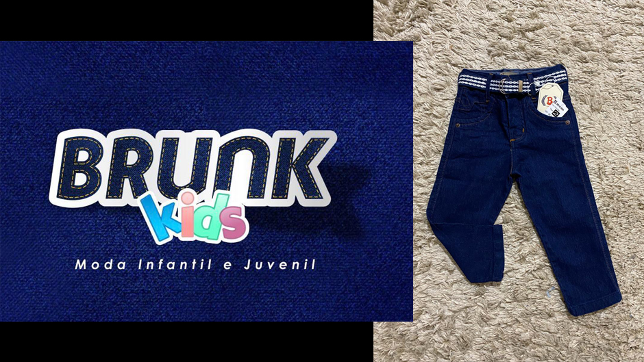 Brunk kids moda infantil jeans atacado