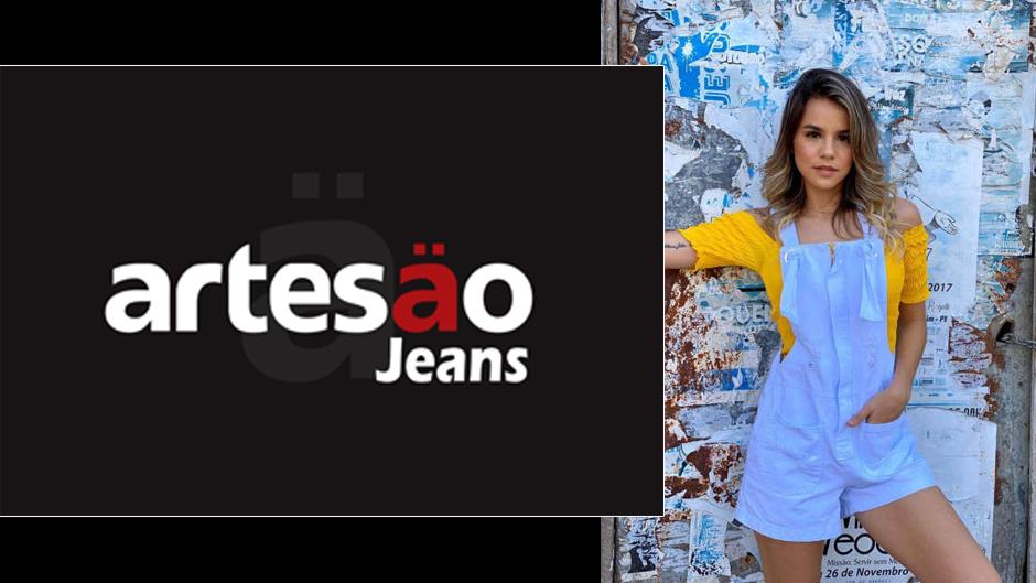artesão jeans moda feminina atacado