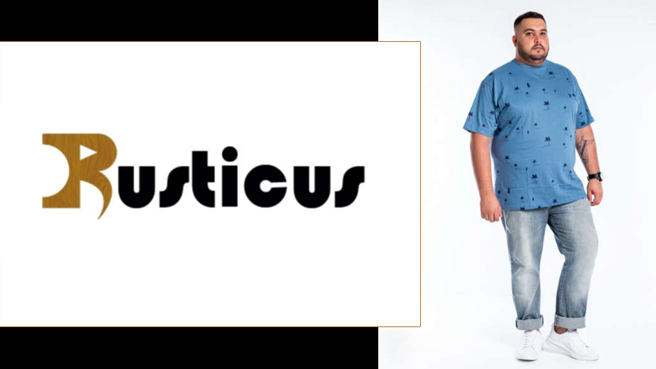 rusticus moda plus size masculina atacado