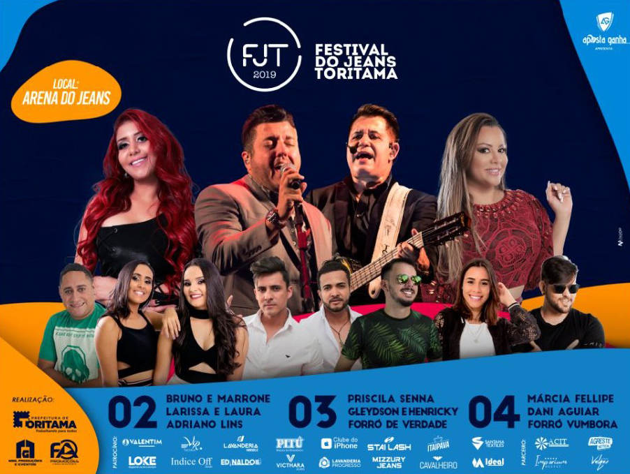 Shows Festival do Jeans 2019