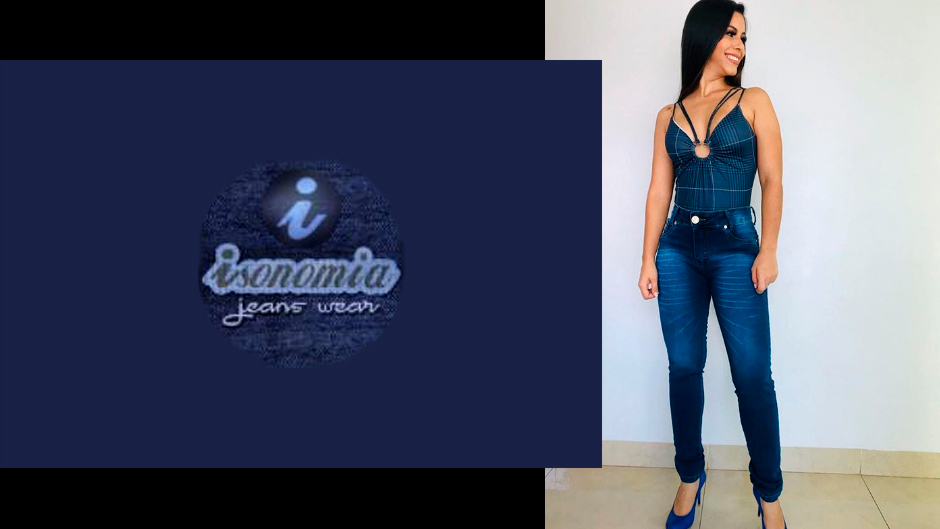 isonomia jeans moda feminina atacado